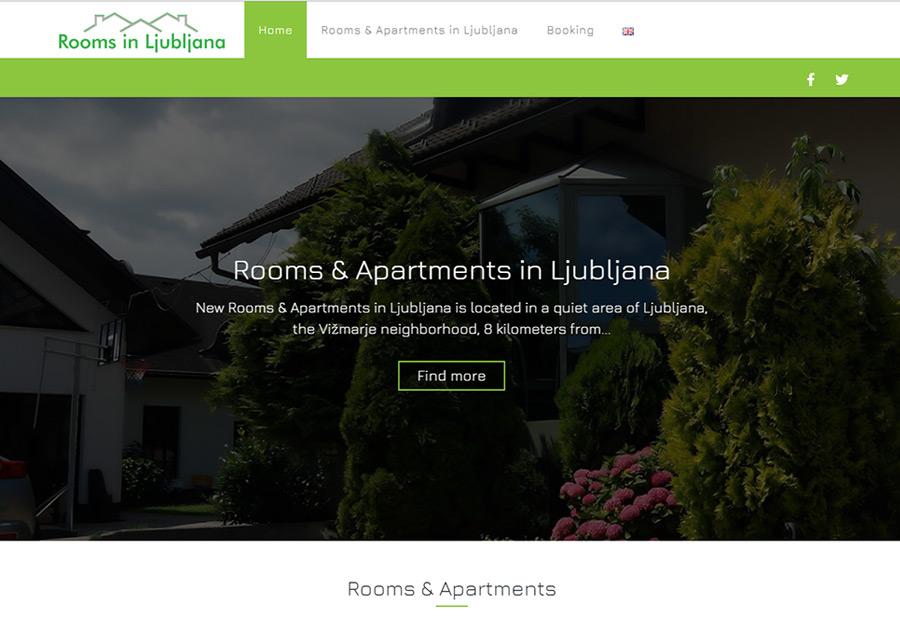 iWeb - izdelava spletne strani Rooms in Ljubljana