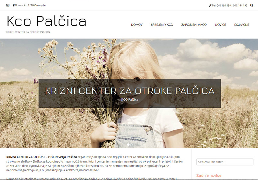 iWeb - izdelava spletnih strani Kco Palčica